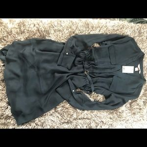 H & M navy dress